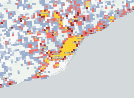Mapa Demografico Barcelona