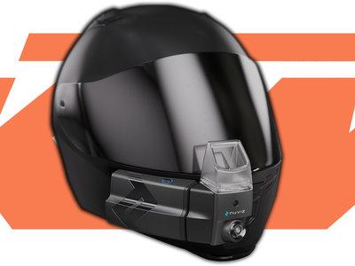 Los cascos de realidad aumentada son el futuro, y KTM busca su lugar controlando NUVIZ