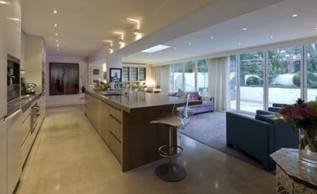 La cocina de Kate Moss