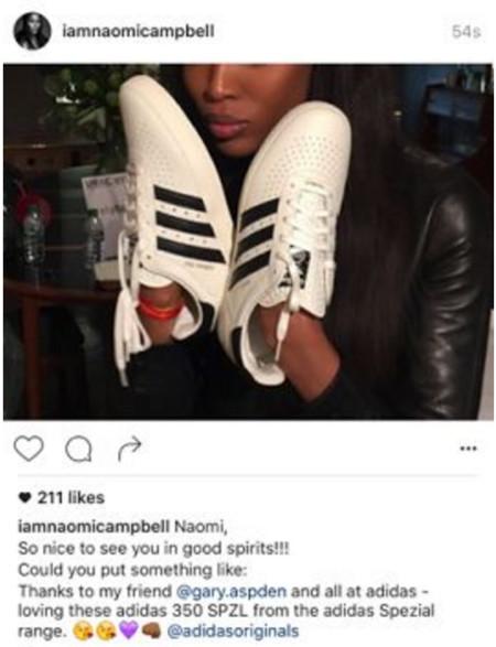 Naomi Campbell La Lia En Instagram B