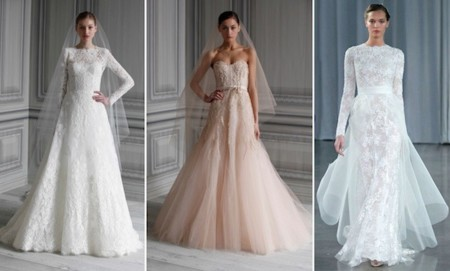 monique lhuillier vestidos novia