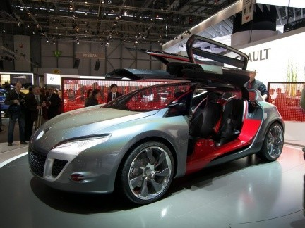 Renault Megane Coupé Concept, presentado en el Salón de Ginebra