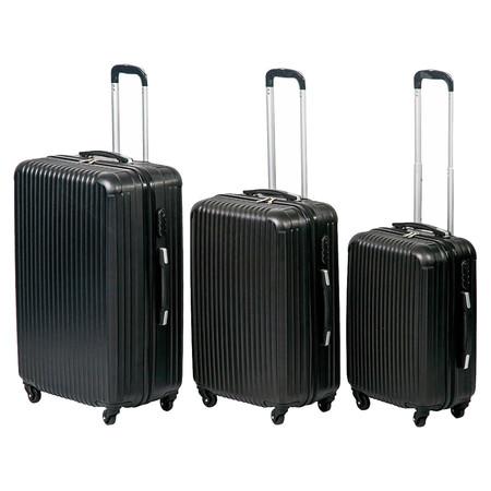 10c7feca8 Si tienes planeado pasar el 2019 viajando, este juego de 3 maletas ...