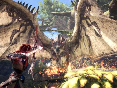 Monster Hunter World pone fecha a su beta en PS4 y anuncia contenidos exclusivos de Horizon Zero Dawn [PGW 2017]