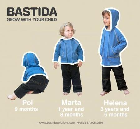 Bastida, el niño crece y la ropa también