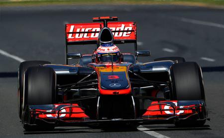 Jenson Button gana el Gran Premio de Australia sin oposición