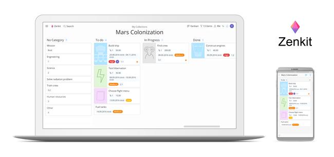 Zenkit, una app de productividad para gestionar proyectos usando Kanban que se planta como el mejor rival de Trello