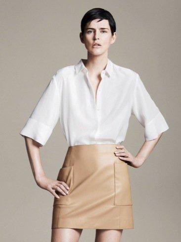 Blusa del Catálogo de moda Primavera-Verano 2011 de Zara
