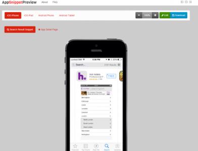 AppSnippetPreview, previsualiza cómo se verá tu aplicación en App Store y Google Play