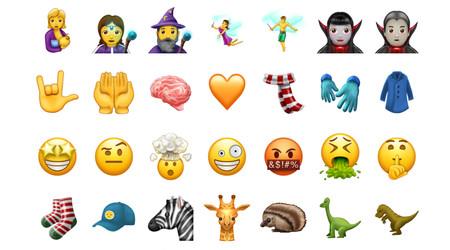 Calificamos de peor a mejor los 69 nuevos emojis anunciados por Unicode para su próxima versión