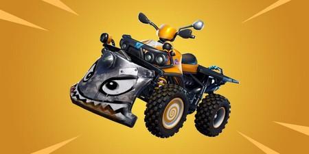Un nuevo vehículo se acerca a Fortnite, y parece que podremos destrozar estructuras con él