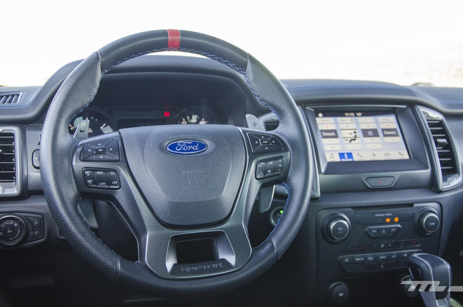 Ford Ranger Raptor 2020, prueba
