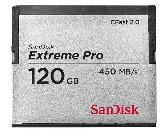 SanDisk Extreme Pro CFast 2.0, una tarjeta lista para tus grabaciones 4K