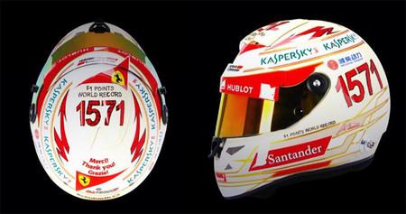 Fernando Alonso celebra sus 1571 puntos