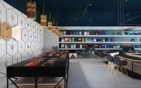 Mezclando física, diseño y ocio en Science Cafe Library by Anna Wigandt en Moldavia