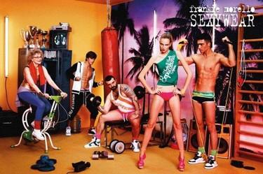 Frankie Morello Sexywear, colección de ropa interior Primavera-Verano 2011