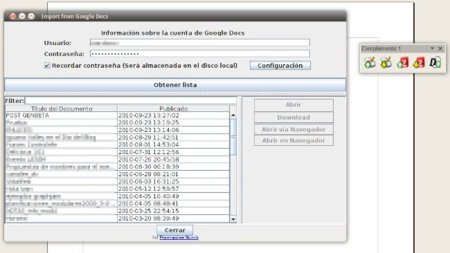 Ooo2gd te ayuda a sincronizar documentos desde OpenOffice con Google Docs y Zoho