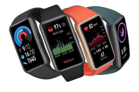 Huawei Band 6 llega a México: el hermano menor de la Watch Fit conserva pantalla AMOLED y medición de oxígeno, este será su precio