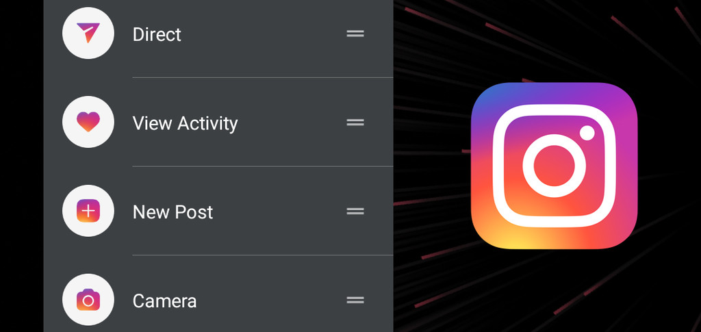 Instagram is already testing the shortcuts in your Android app