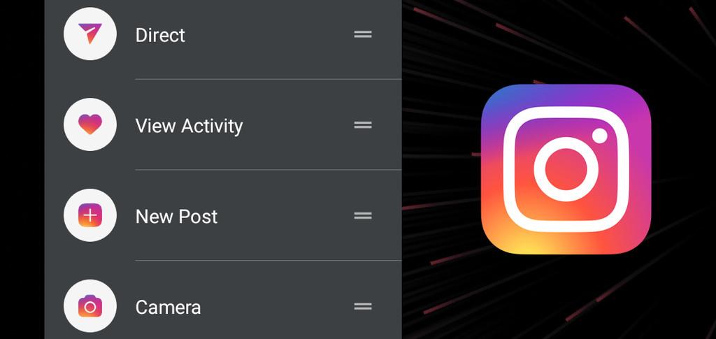 Instagram ya está comprobando los accesos directos en su aplicación para Android