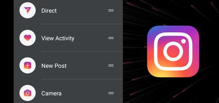 Instagram ya está probando los accesos directos en su aplicación para Android