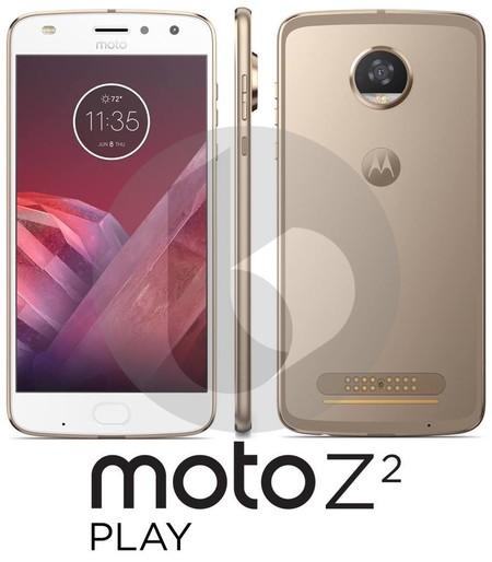 Esta es la primera imagen del Moto Z2 Play que lo muestra en todo su esplendor