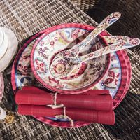 Loza parece melamina es; atención a la colección de platos irrompibles de El Corte Inglés perfectos para la terraza o jardin