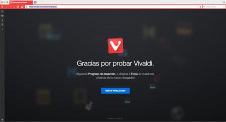 """Vivaldi: probamos la beta del navegador """"para usuarios expertos"""""""