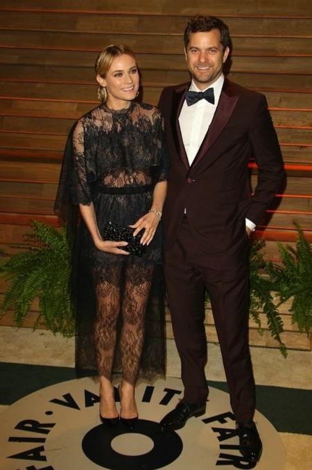 Diane Kruger fiesta vanity fair Oscar 2014