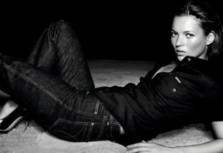 Kate Moss para Calvin Klein