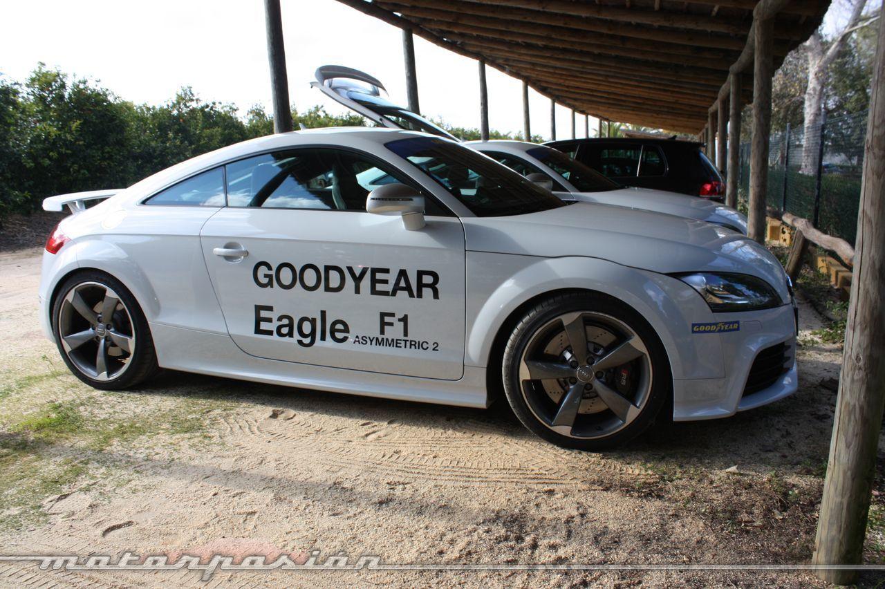 Foto de Goodyear Eagle F1: Audi TT RS, Audi A7 y Mercedes CLS (12/79)