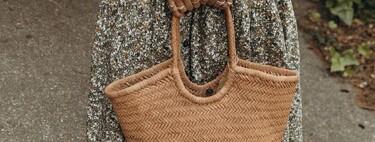 Siete bolsos tipo capazo de mujer para ir a la playa o a la piscina este verano