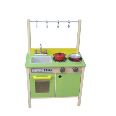 Cocina Madera Verde