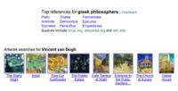 Google incluye resultados relacionados en sus búsquedas