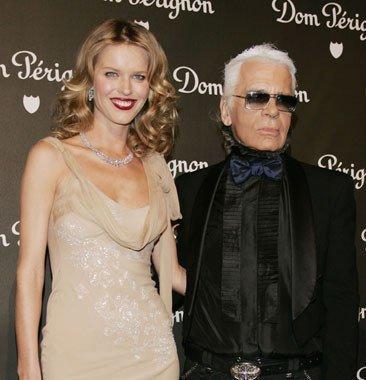 Presentación Dom Pérignon con Karl Lagerfeld