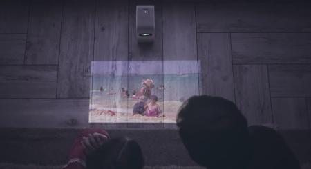 Este pequeño proyector de Sony quiere convertir en pantalla cualquier superficie