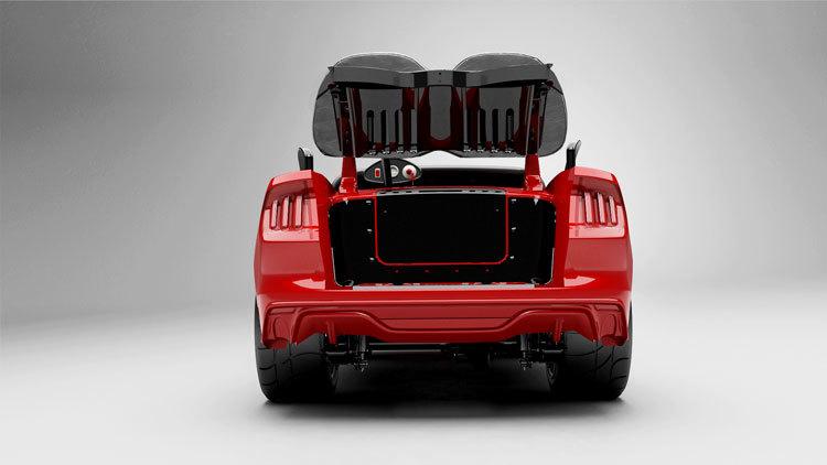 Foto de Ford Mustang carrito de golf (1/5)
