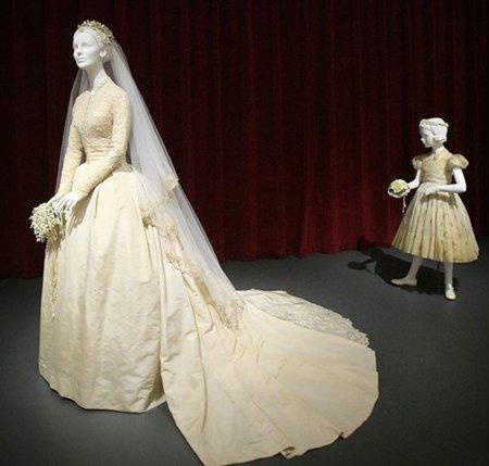 El vestido de novia de la Pricesa Grace Kelly