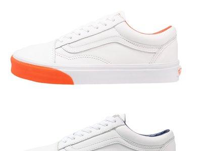 60% de descuento en las zapatillas Vans UA Old Skool en blanco combinado con varios colores: ahora cuestan 35,95 euros en Zalando
