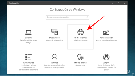 En La Configuracion De Windows 10 Entrar En Red E Internet