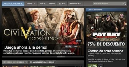 Steam venderá también aplicaciones a partir del mes que viene