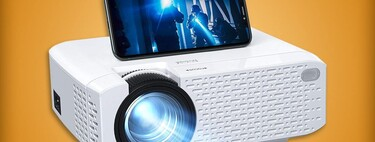 Proyector con WiFi de oferta por menos de 1,600 pesos en Amazon México: cupón de descuento adicional y envío gratis con Prime