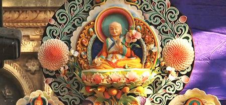 Las impresionantes esculturas de mantequilla de los monjes budistas
