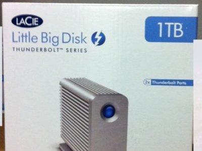 Los primeros discos duros con conexión Thunderbolt llegan a los almacenes de las Apple Store