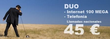 Adamo, acceso a Internet 100 Megas en Asturias