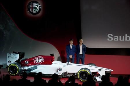 Alfa Romeo culmina su vuelta a la Fórmula 1 presentando pilotos y decoración para 2018