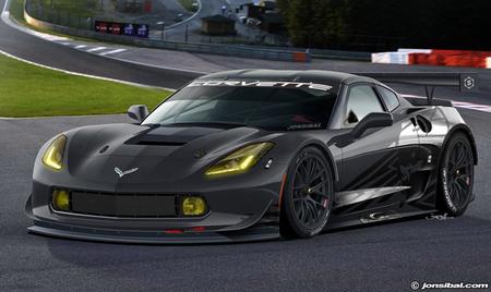 Así podría ser el futuro Corvette C7R