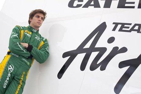 Luiz Razia quiere debutar en Fórmula 1 en el próximo Gran Premio de Brasil