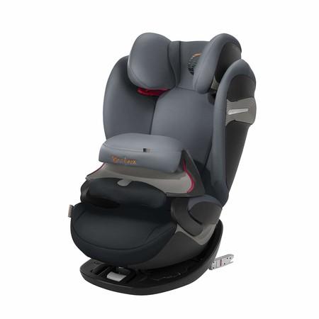 Oferta de Amazon en la silla para coche Pallas Cybex S-Fix en color negro: ahora puede ser nuestra por 214,58 euros