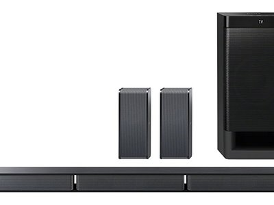 Barra de sonido Sony HT-RT3, con 600W de potencia, por 228,65 euros